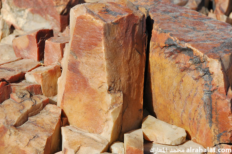 Rock red as Cinder